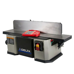 6 Midi bench Jointer Delta Power Tools 37 071 120v 1 Phase 1 8 In Depth Of Cut