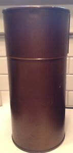 Vintage Brass Petri Dish Sterilization Container With Removable Rack