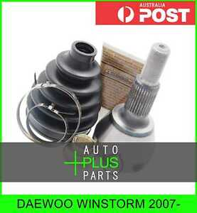 Fits Daewoo Winstorm 2007 Outer Cv Joint Rear 22x33 3x30