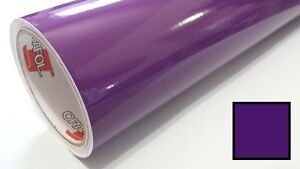 Gloss Violet Vinyl 30 x30 Roll Sign Making Decal Supplies Craft Decoration
