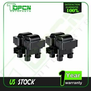 For Ford Ranger F 150 Expedition Lincoln Town Mercury Fd487 Ignition Coil 2 Set