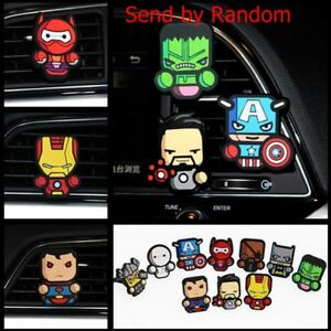 Cartoon Air Freshener Conditioning Vent Clip Perfume Decoration Car Accessories
