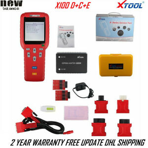 Xtool X100 Pro C D E Type For Mileage Correction Key Programmer Eprom