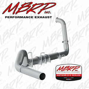 Mbrp S62240plm 5 Inch Turbo Back Exhaust 03 07 Ford F 250 F 350 6 0l Powerstroke