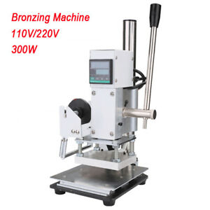 Foil Stamping Machine Tipper Stamper Bronzing Machine For Pvc Credit Card