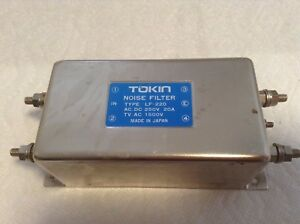 Tokin Lf 220 Noise Filter Acdv 250v 20a Tv Ac 1500v