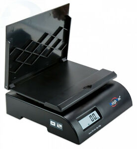 Weighmax 2822 75lb Postal Shipping Scale Battery And Ac Adapter Included