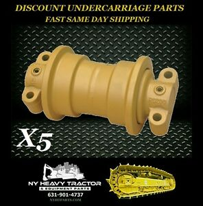 John Deere 450c Single Flange Roller X5 Replacement Dozer Track Lower Bottom