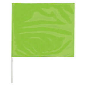 Grainger Approve Marking Flag 18 Glo Lime pk100 P4518lg 200 Fluorescent Lime