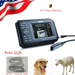 Handy Vet Lcd Ultrasound Scanner Rectal Probe Ultrasonic Machine For Dogs Cow Us