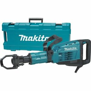 Demolition Hammer 35 Lbs Heavy Duty Jack Concrete Breaker Makita 1 450 Bpm