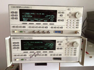 Agilent hp keysight 83640b Synthesized Swept signal Generator 10mhz 0 01 40ghz