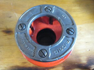 Ridgid 1 12r Pipe Threading Die Head Complete 12 r Free Shipping
