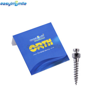 1pack Of Dental Orthodontic Micro Implant Screw Mini Titanium Screw Easyinsmile
