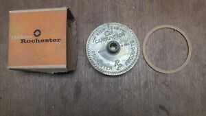 Nos Gm 55 58 Chevy Passenger Car Thermostat Cover And Coil W Gasket Rochester