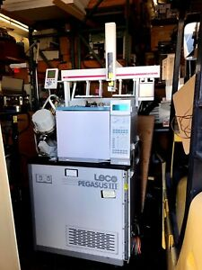 Leco Pegasus Iii Tof With Hp Agilent 6890n Series Gas Chromatograph Gc Fid