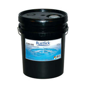 Rustlick Dielectric Oil 5 Gal bucket 72055 Fluorescent Green