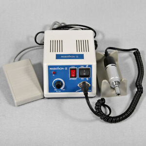 Dental Marathon Micromotor Polisher 35k Rpm Lab Electric Motor Silver Sk tnr