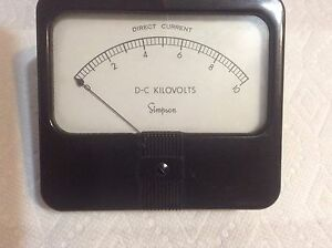 Simpson Dc Kilovolts 0 10