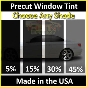 Fits 2005 2010 Chevrolet Cobalt Visor Only Precut Window Tint Automotive Film