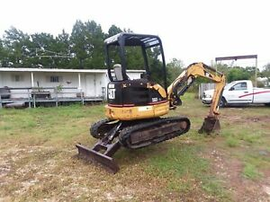 2005 Caterpillar 303 Cr 18 Bucket Good Condition 3737 Hr