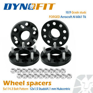 4x 20mm Hubcentric Wheel Spacers 5x114 3mm 5x4 5 64 1mm Fit Civic Cr v Accord