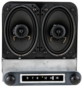 1954 1st 1955 Chevy Truck Am Fm Bluetooth Radio Speakers Hand Made In Usa