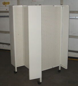 Retail Store Commercial Peg board Display Rack
