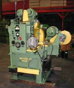 1 1 2 38mm X 6 152mm X 6 Waterbury Farrel 4 hi Rolling Mill 10019