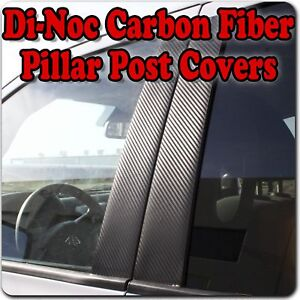 Di Noc Carbon Fiber Pillar Posts For Chevy Captiva Daewoo Winstorm 06 15 8pc