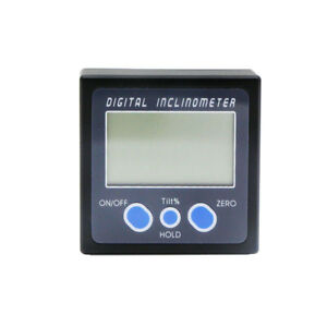 Digital Inclinometer Bevel Box Protractor Angle Finder Angle Gauge Meter