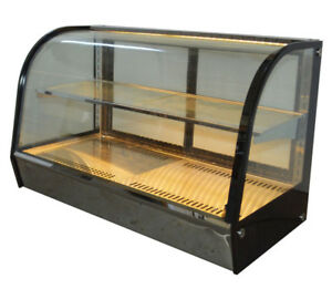 Commercial Bakery Showcase Countertop Pie Desert Egg Tart Heat Preservation Case