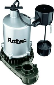 Flotec Fpzt7350 High Output Submersible Sump Pump With Vertical Float Switch