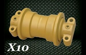 Case 750d Single Flange Roller X10 Replacement Dozer Track Lower Bottom