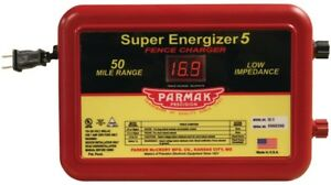 Parmak Se 5 4 Ac Powered Electric Fence Charger 110 120 Vac Input