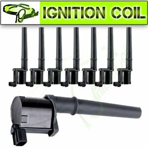 8 Ignition Coil Pack For Lincoln Navigator Aviator Ford Mustang Mercury Uf191