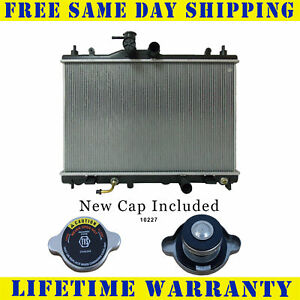 Radiator With Cap For Nissan Fits Versa With Variable Transmission 13002wc