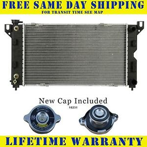Radiator With Cap For Crysler Dodge Fits Town Country Caravan 1850wc