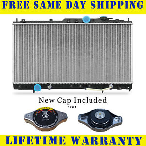 Radiator With Cap For Chry Mits Fits Eclipse Sebring Stratus Coupe 2410wc
