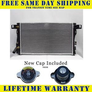 Radiator With Cap For Dodge Chry Fits Vision Intrepid Concorde N yorker 1390wc