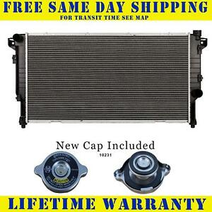 Radiator With Cap For Dodge Fits Ram 2500 3500 Diesel 5 9 L6 6cyl 2 Row 1553wc