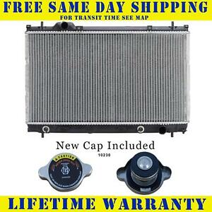 Radiator With Cap For Chry Dodge Fits Neon Sx 2 0 3 Speed Single Fan 2363wc