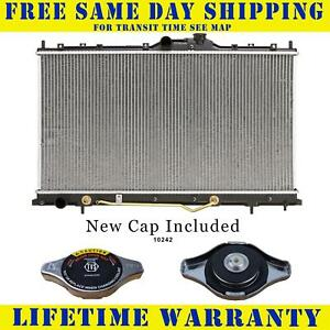 Radiator With Cap For Mitsubishi Fits Galant 2 4 3 8 L4 4cyl V6 6cyl 2723wc
