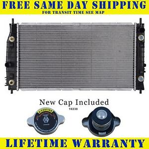 Radiator With Cap For Dodge Fits 300m Lhs Intrepid Concorde 2 7 3 5 2184wc