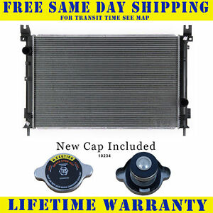 Radiator With Cap For Chrysler Pacifica For 3 5 3 8 V6 6cyl 2702wc