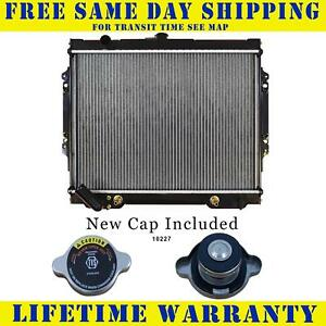 Radiator With Cap For Mitsubishi Fits Montero 3 0 V6 6cyl 1504wc