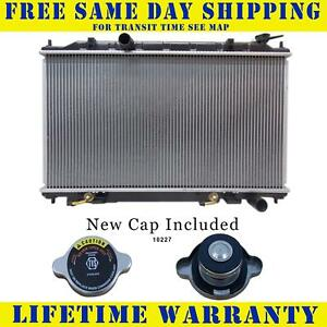 Radiator With Cap For Nissan Fits Maxima 3 5 V6 6cyl 13005wc