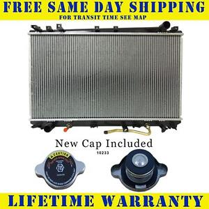 Radiator With Cap For 2000 2004 Toyota Avalon 3 0l V6 Fast Free Shipping