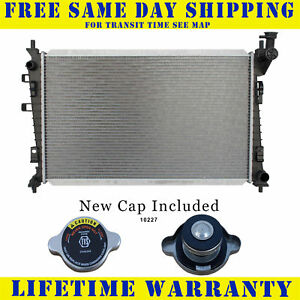 Radiator With Cap For Ford Fits Focus 2 0 L4 4cyl 13087wc