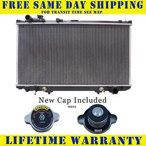 Radiator With Cap For Lexus Fits Gs300 3 0 V6 6cyl 1854wc